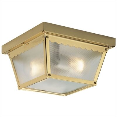 Flush Mount 2 Light Sconce (Set of 2)