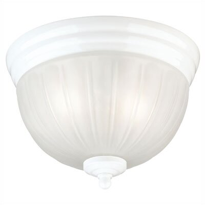 2 Light Done Flush Mount (Set of 2)