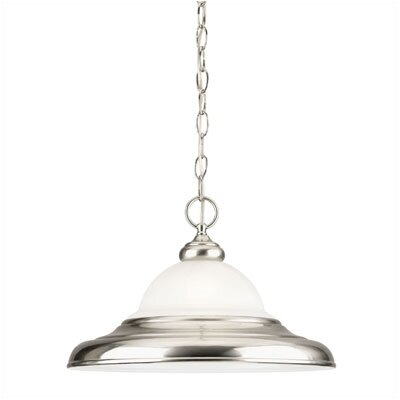 Eastgate Collection  Pendant in Brushed Nickel