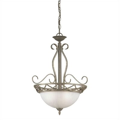 Raphael Collection  Chandelier in Ebony Bronze
