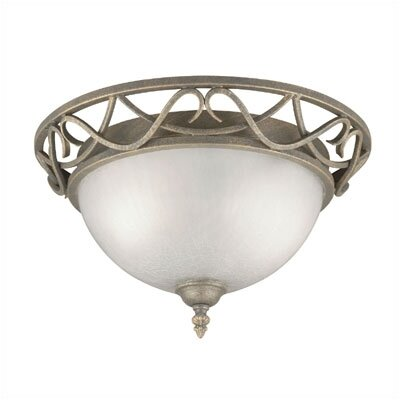 Raphael 2 Light Flush Mount