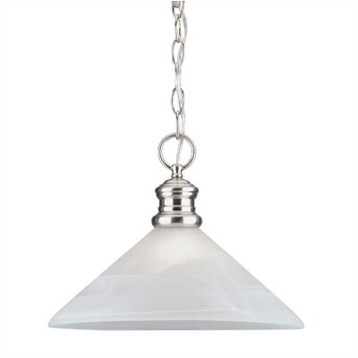 Winchester  Pendant in Brushed Nickel