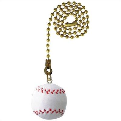 Baseball Ceiling Fan Pull Chain (Set of 12)