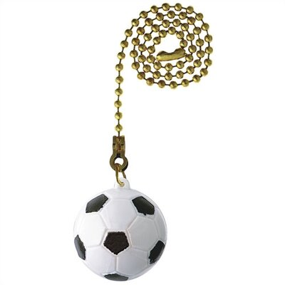 Soccer Ball Ceiling Fan Pull Chain (Set of 17)