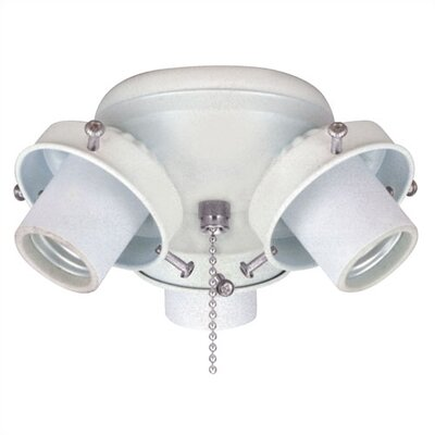 Cluster Ceiling Fan Fitter (Set of 7) Finish: White