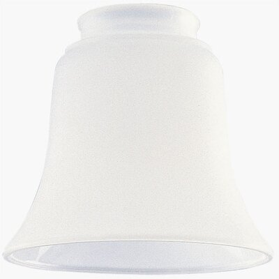 2.25 Ceiling Fan Fitter Smooth Frosted Shade (Set of 6)