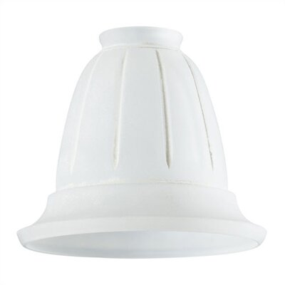 2.25 Ceiling Fan Fitter Glass Shade White Scavo (Set of 8)