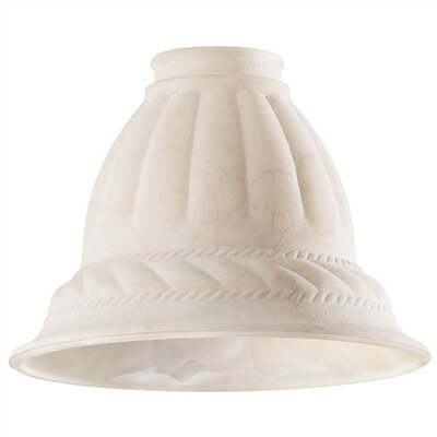 2.25 Ceiling Fan Fitter Sandy Rope Bell Shade (Set of 5)