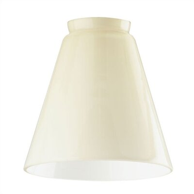 2.25 Ceiling Fan Fitter Cone Shade in Cream (Set of 3)