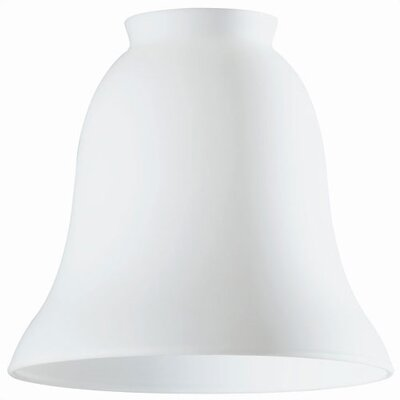2.25 Ceiling Fan Fitter Bell Shade in White Opal (Set of 5)
