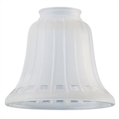 2.25 Ceiling Fan Fitter French Bell Shade (Set of 7)