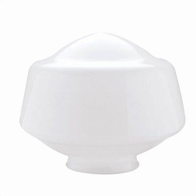 4 Ceilng Fan Fitter Opal Schoolhouse Shade (Set of 4)
