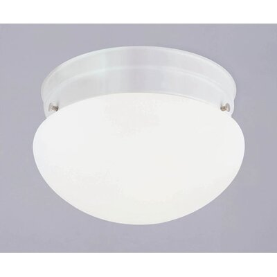 1 Light Opal Flush Mount (Set of 2)