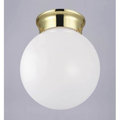 Flush Mount in Polished Brass- Energy Star (Set of 3)