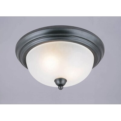 Pine Creek 2-Light Flush Mount (Set of 2)
