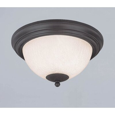 Laurel Springs 2-Light Flush Mount