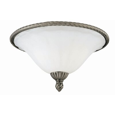 Hyattsville  Flush Mount in Antique Nickel