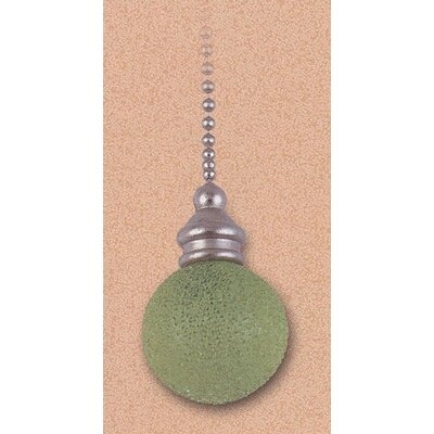 Details Lime Speckled Glass Orb Ceiling Fan Pull Chain (Set of 7)