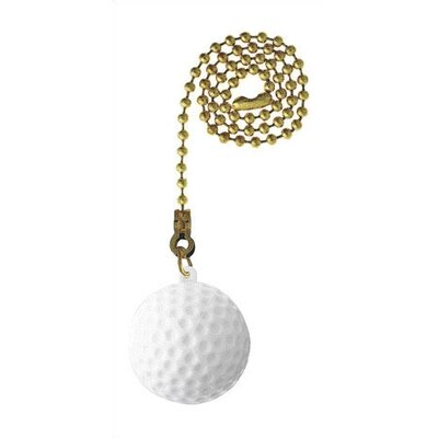 Golf Ball Ceiling Fan Pull Chain (Set of 17)