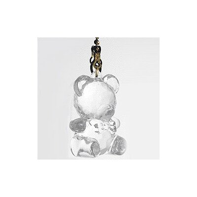 Acrylic Teddy Bear Ceiling Fan Pull Chain (Set of 16)