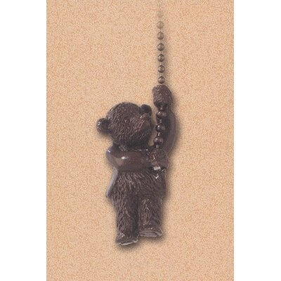 Details Climbing Teddy Ceiling Fan Pull Chain in Antique Brass (Set of 8)