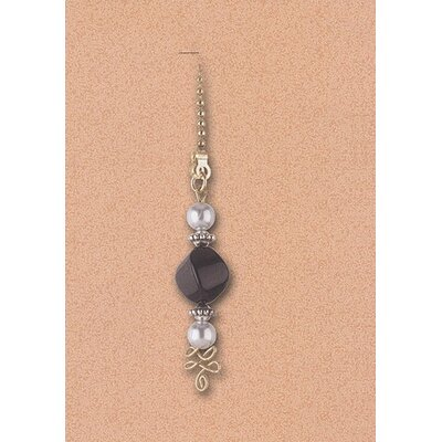 Details Black & White Beads Ceiling Fan Pull Chain (Set of 13)