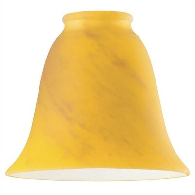 Ocher Swirl Ceiling Fan Shade (Set of 5)