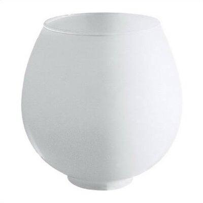 Satin White Light Fixture Shade (Set of 6)