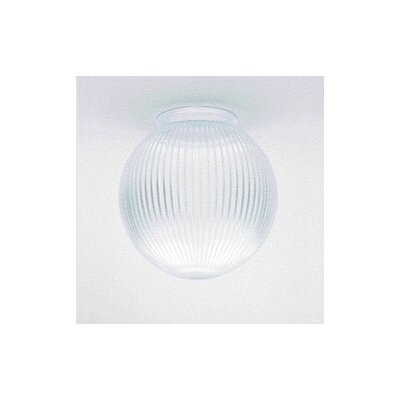 Clear Prismatic Globe Ceiling Fan Light Shade (Set of 9)