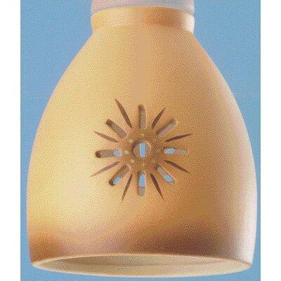 Desert Sun Ceiling Fan Light Shade (Set of 5)