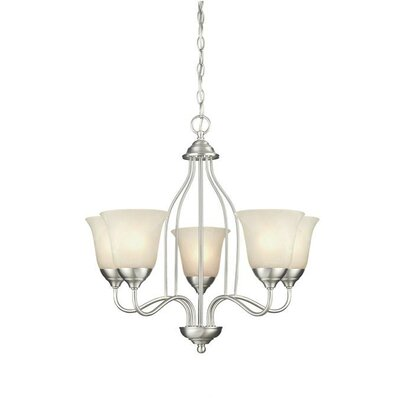 Clinton 5-Light Shaded Chandelier