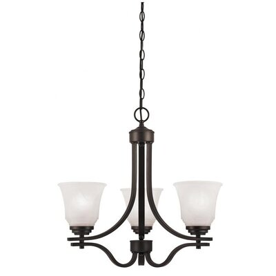Wensley 3 Light Chandelier