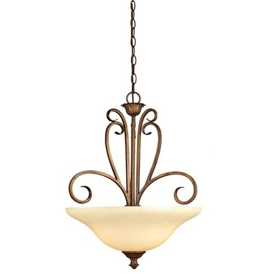 Regal Springs 3-Light Pendant