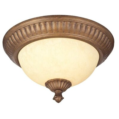 Regal Springs 2-Light Flush Mount