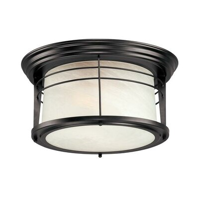 Morton 2-Light Flush Mount