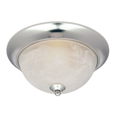 Clinton 1 Light Flush Mount (Set of 2)