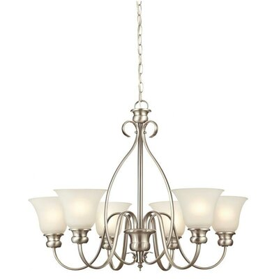 Fontane 6-Light Shaded Chandelier