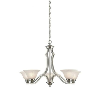 Fallon 5-Light Shaded Chandelier
