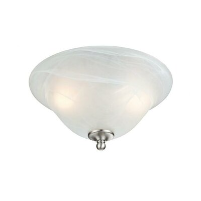 Fallon 2-Light Semi-Flush Mount