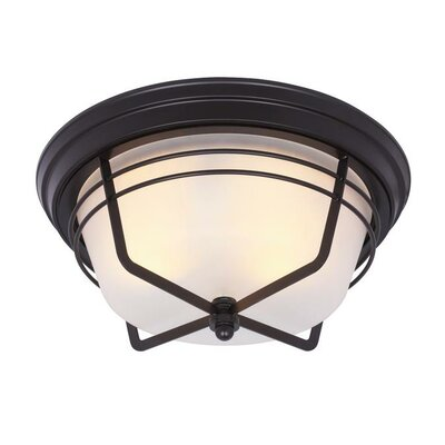 Bonneville 2-Light Flush Mount