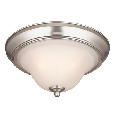Swanstone 1-Light Flush Mount (Set of 2)