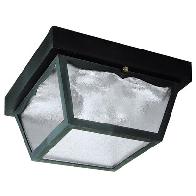 Exterio 2-Light Flush Mount