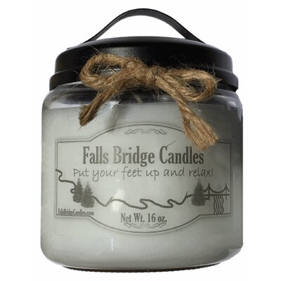 Citrus and Sage Scented Jar Candle CITSSAGE16