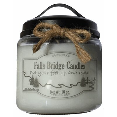"""Christmas Cheer Jar Candle Size: 5.25"""" H x 4"""" W x 4"""" D"""