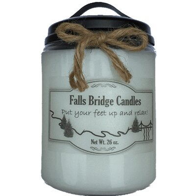 Citrus and Sage Scented Jar Candle CITSSAGE22S