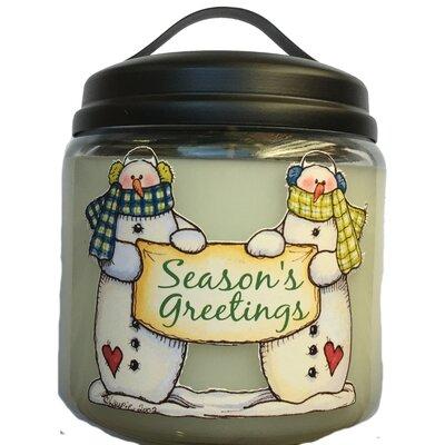 Christmas Tree Jar Candle
