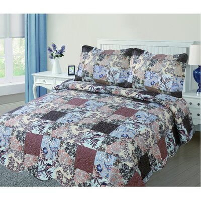 Reversible Quilt Set Size: Twin
