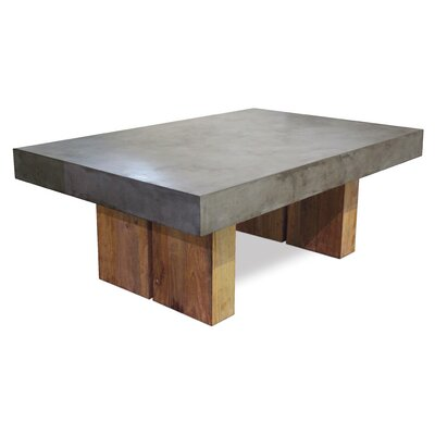 Perpetual Samos Coffee Table Top Finish: Slate Gray