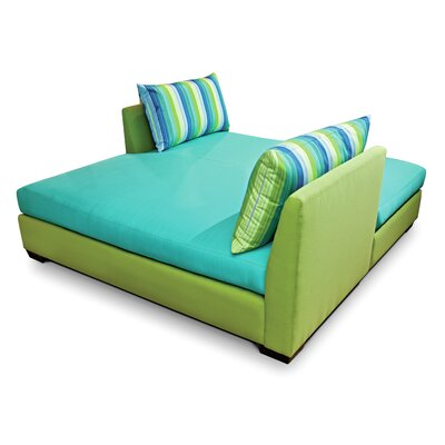 Fizz Double Chaise Lounge with Cushion