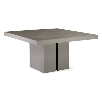 Perpetual Delapan Dining Table Finish: Slate Gray